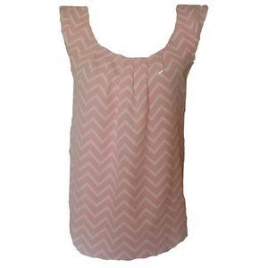 Candie's Pink Sleeveless Top, Sz. M, EUC